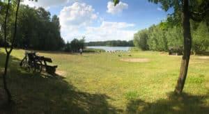 Am Weißen See Badewiese in Böhmerheide am Weißen See