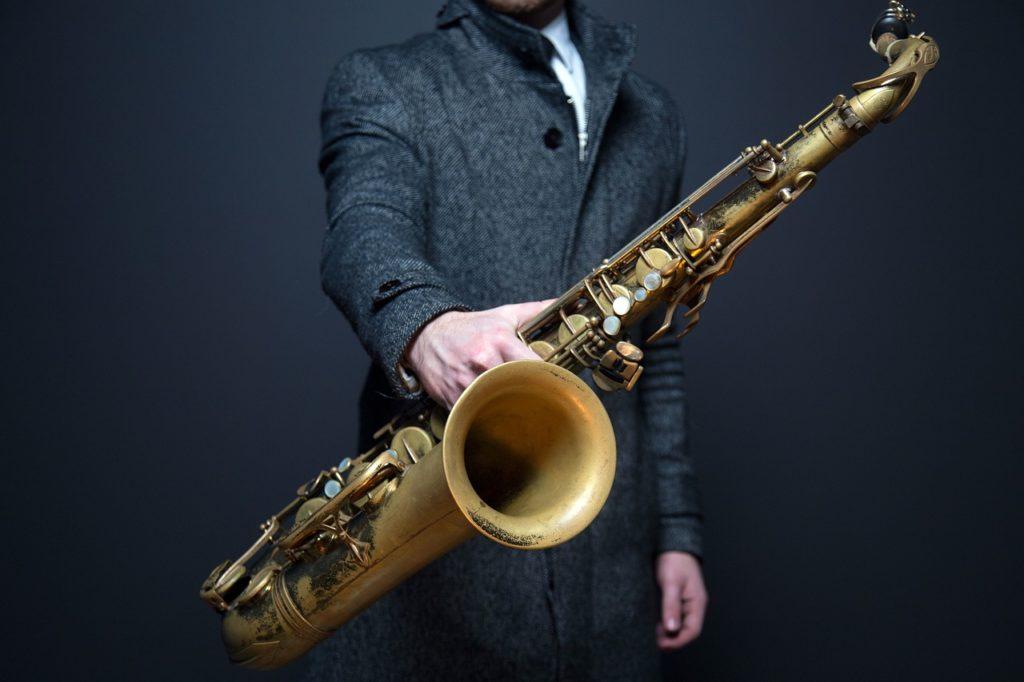 Am Weißen See Saxophon trifft Grill